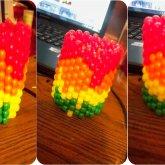 Melting Rainbow Cuff.