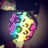 Rainbow Leopard Mask!!