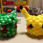 Pikachu And Bulbasaur :D
