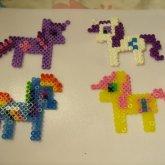 Perler Ponies!