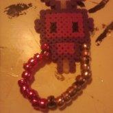 Cute Purple Robot Single