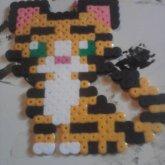 Fuse Bead Tiger Cub