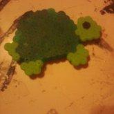 Fuse Bead Turtle Magnet