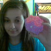 Pink And Purple Side Or Star Ball