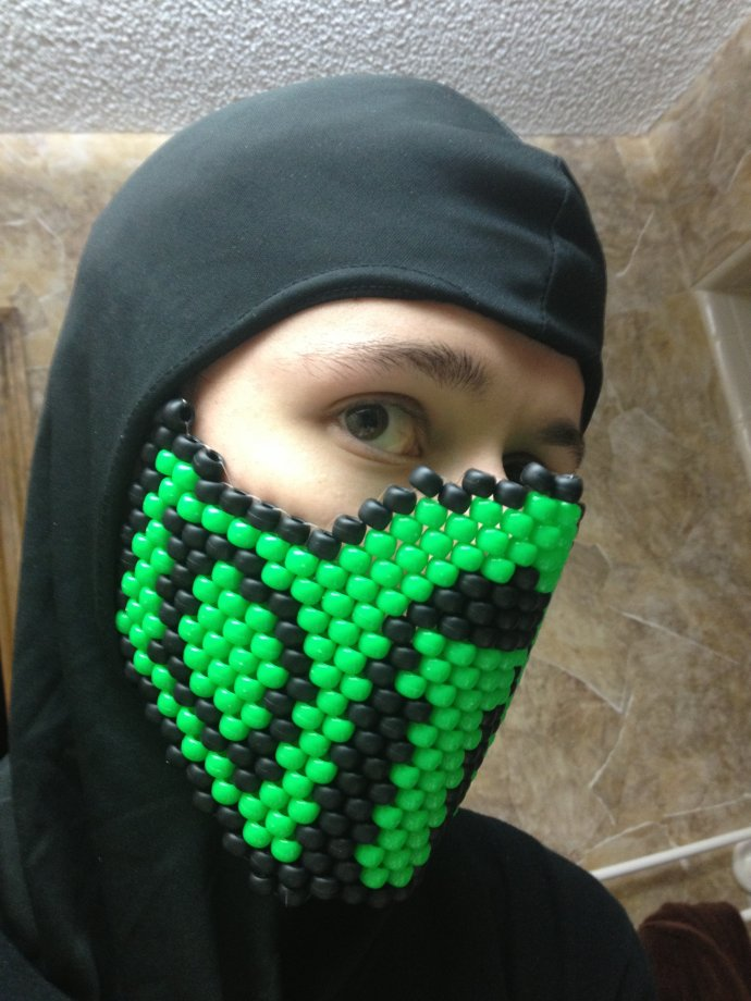 vraie affaire prix plancher gamme de couleurs exceptionnelle Reptile Mask on by Kujara - Kandi Photos on Kandi Patterns