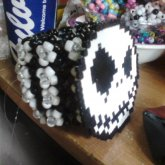 Pretty Huge Cuff With Perler Made By Gwen X3