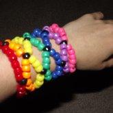Rainbow X-based Cuff