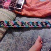 My Glow In The Dark Kandi Belt With My Name On It