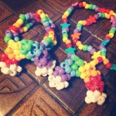 Rainbow Cuff And Necklace