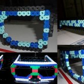 Perler Bead Sunglasses Kandi Sunglasses Sun Glasses