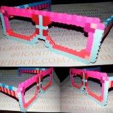 Fuse Bead / Perler Bead Sunglasses Kandi Sunglasses Sun Glasses