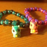 Squirrel Squinkies On Single Bracelets