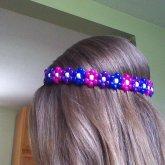 Kandi Flower Headband! :)