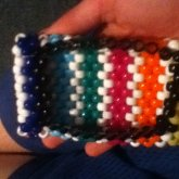 Kandi Ipod Touch Case Striped