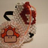 Mario Mushroom Kandi Gas Masks