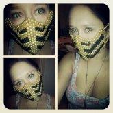 Scorpion Kandi Mask