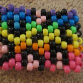 Rainbow Animal Print Cuff