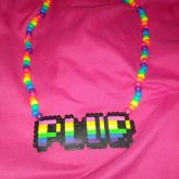 From Perler To Necklace