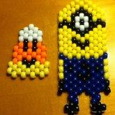 Minion And Kandi Candy Corn :)