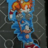 Sonic The Hedgehog 3 Sonic And Tails Flyning