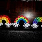 MORE 3D Kandi Rainbows :3