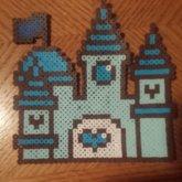 Kawaii Blue Princess Castle