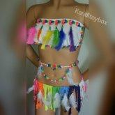 Rainbow Kandioutfit
