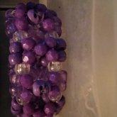 Purple Skull 3d Cuff