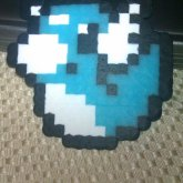 Dratini Glow In The Dark Perler