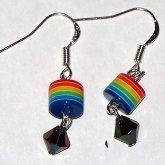 Retro Rainbow Earrings