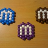 Blue, Brown And Purple M&Ms