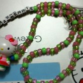 Hello Kitty Strawberrie Necklace