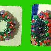 Purple Balls 3d Cuff