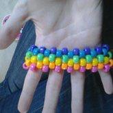 Small Rainbow Cuff~