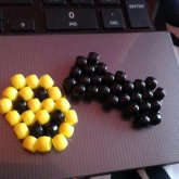 Kandi Bow And Smiley Face