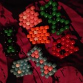 Bows And Pacman Ghosts :3