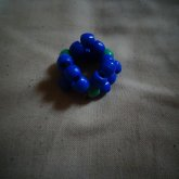 Blue And Green Ring.