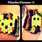 Pikachu/Pacman Cuff