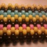 The Fback Of My Hello Kitty Kandi Bracelet