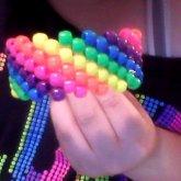 Neon Swirly Cuff