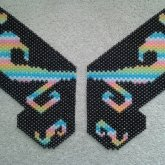 Finished Kandi Wings