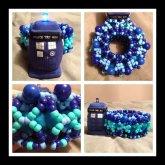 Tardis Doctor Who Cuff <3