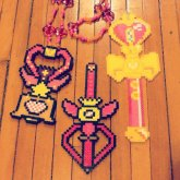 Sailor Moon Perler