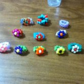 Kandi Rings Collection