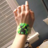 Creeper Cuff Wearing