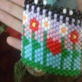 Close Up On Flower Cuff! :)