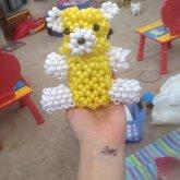 My 3D Bear I Made For My Boyfriend! C: