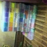 All My Cases With Pony Beads /shape Beads And Letter Beads