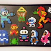 8 Bit Tribute Perler Beads