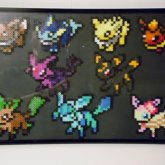 Eeveelution Perler Beads